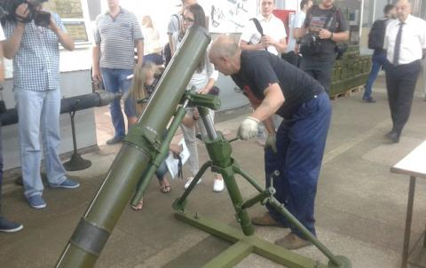 Ukroboronprom designed 60mm caliber mortars meeting NATO standards