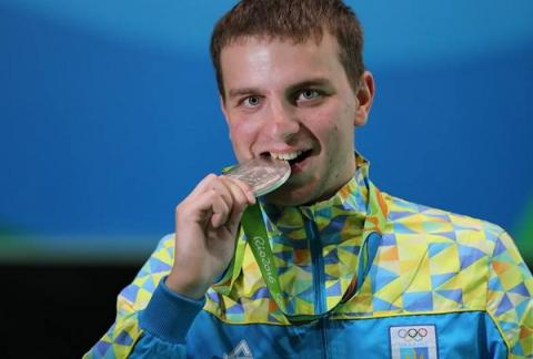 Ukraine's Kulish wins silver at air rifle men's finals in Rio