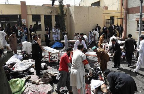 IS claims responsibility for yesterday Pakistan hospital massacre