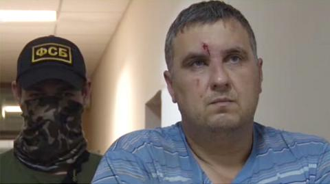 Brother of accused of terrorism in Crimea Ukrainian Panov says he was kidnapped