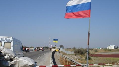 Border guards recommend to refrain from the trips to Crimea