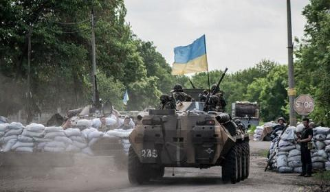 42 attacks on Ukrainian forces in Donbas reported over past 24 hours