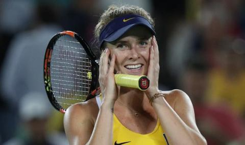 Ukraine's tennis player Svitolina defeated by Czech Republic's Kvitova in Rio tournament