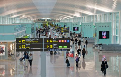 Terrorist was detained at the Boryspil airport