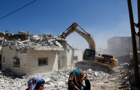 Israeli military demolishes home of Palestinian who killed Israeli child