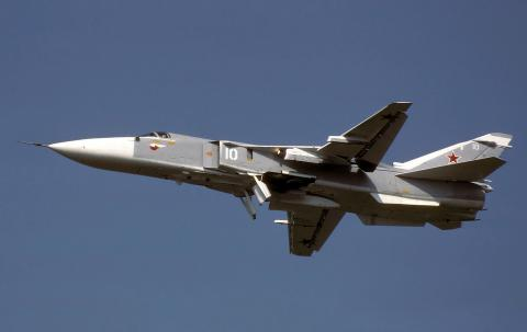 Russian aircraft struck the first blow to the terrorists from the airfield in Iran