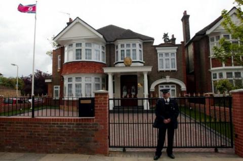 North Korea's deputy ambassador in UK, his family defected