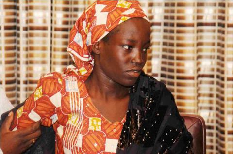 Chibok schoolgirl rescued from Boko Haram first interview