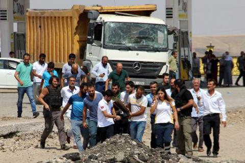 2nd in a day car bombing in Turkey killed 3, wounded 100 near Elazig police HQ