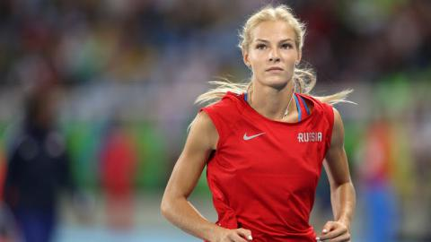 Rio 2016: Klishina refuses to return to Russia after Olympics