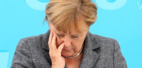 Merkel says terrorism is not connected with refugees