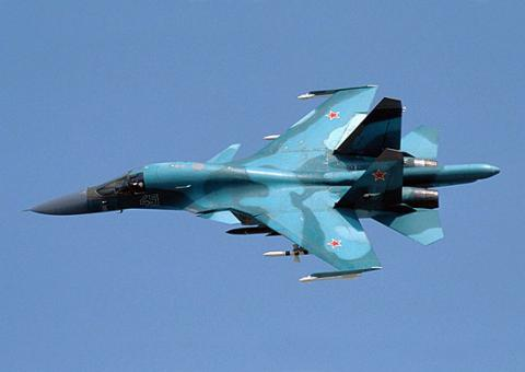 Russian bombers land another strike on ISIS positions in Syria
