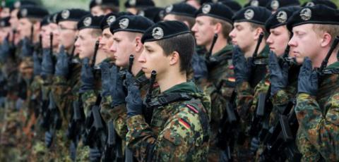Germany thinks to return conscription for civil defence