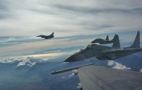 US F-15, Bulgarian MiG-29 to conduct joint patrols over Black Sea in Sept