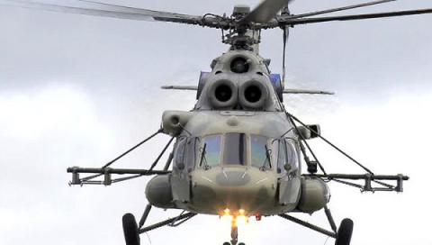Ukrainian border guards: 2 Russian Mi-8 spotted over administrative border with occupied Crimea