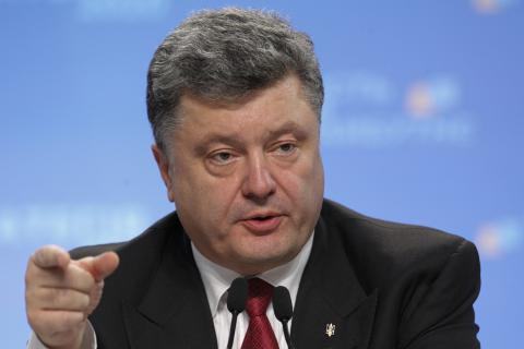 Poroshenko reported the NATO Secretary General about the conflict escalation in Donbas