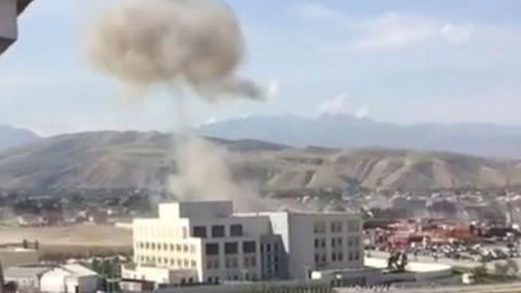 3 injured in suicide car bomb blast at Chinese embassy in Kyrgyzstan