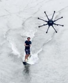 Is dronesurfing the next wave in watersports? (VIDEO)