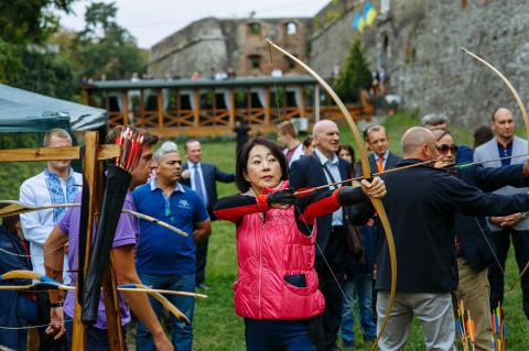 Diplomats visited Transcarpathia