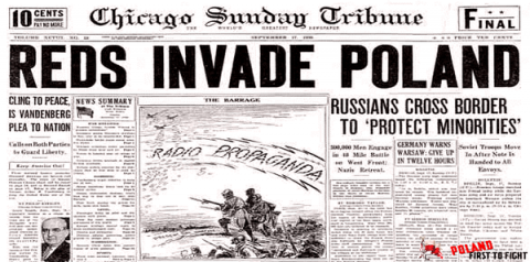 Ukraine, Poland, Lithuania to publish joint declaration on Soviet invasion to Poland in 1939