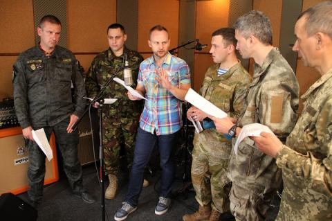 Social art project 'War Songs' launched in Ukraine (VIDEO)