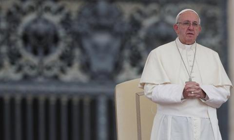 Pope Francis calls man's destruction of environment sin