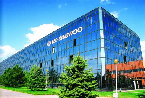 Daewoo is to build a new plant in Ukraine