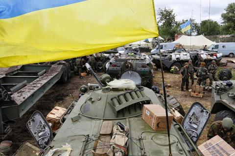 Russia-backed militants launched 21 attacks on Ukrainian position in Donbas - ATO HQ