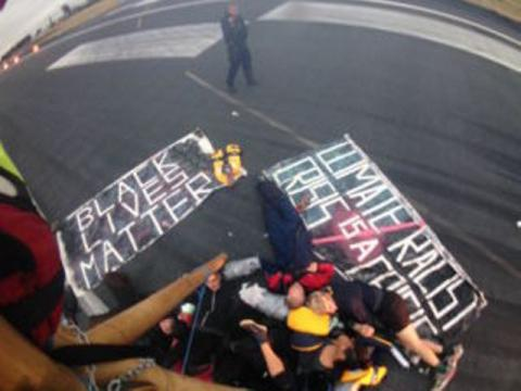 Black Lives Matter UK disrupted flights at London City Airport