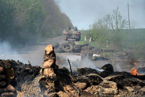 Pro-Russia militants launched 24 attacks on Ukrainian govt's forces in Donbas combat area