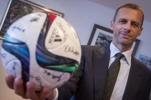 UEFA elected new president