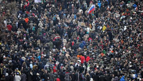 More than 80% of Russians are not ready to protest, Poll