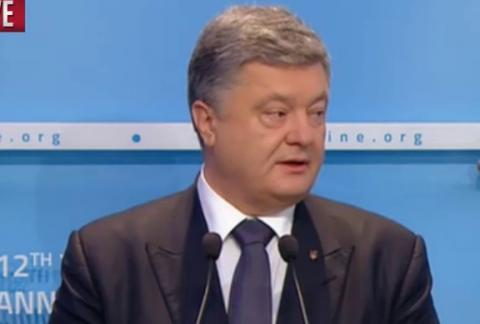 Ukraine won't take a step forward until Russia fulfills commitments on security in Donbas - Poroshenko