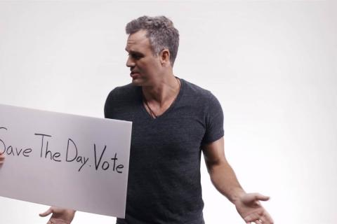 Hollywood stars in the video against presidential candidate Trump