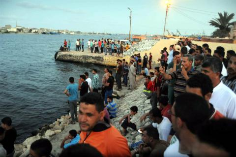 Migrant boat capsized near Egypt