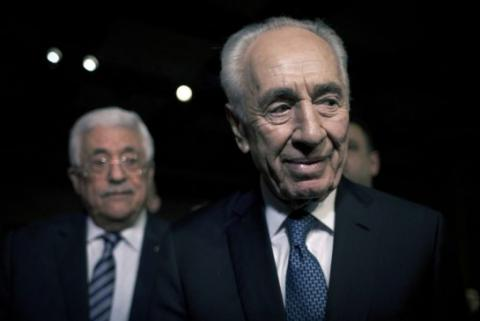 Palestine's president to visit Shimon Peres funeral