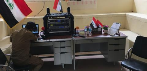 Iraq launches radio to broadcast in ISIS-held Mosul