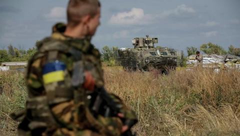 War in Eastern Ukraine: 57 violations of ceasefire