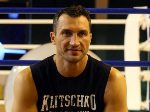 I become a champion at the end of the year, Klitschko