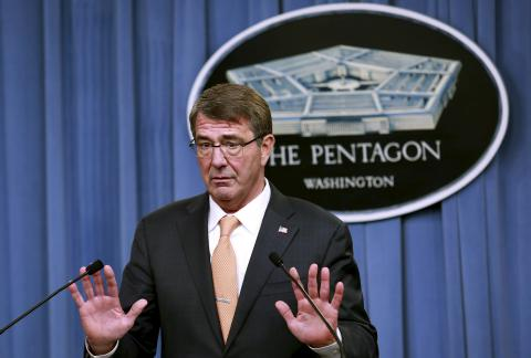 "Pentagon to make an advance against ISIS' ""capital"""