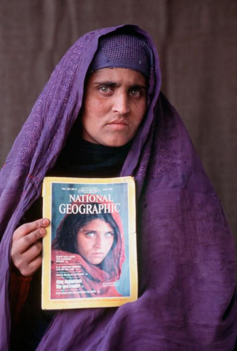 """Afghan girl"" arrested on ID fraud charge"