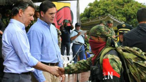 Colombia wants captive free before peace talks with ELN