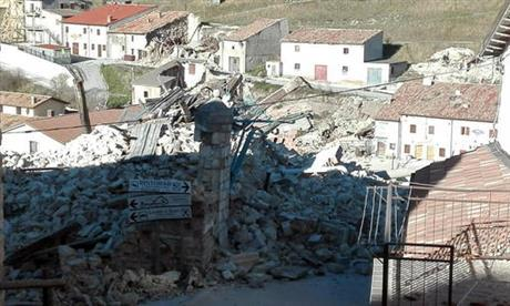 Dozens of minor earthquakes shook central Italy overnight