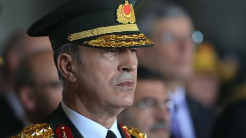 Turkish military chief talked with Russian official over Syria