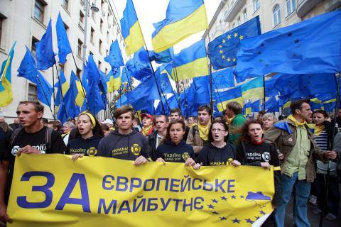 For most of Ukrainians, better to be in EU then in Customs Union with Russia - Poll