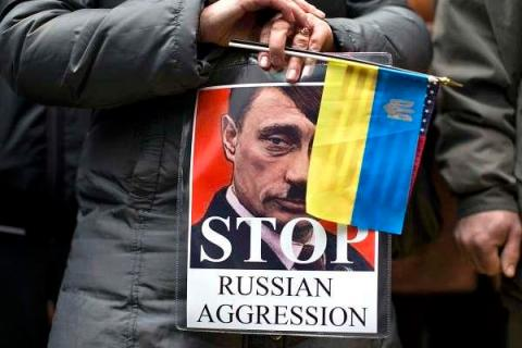 57% Ukrainians have cold and very cold attitude toward Russia - Poll