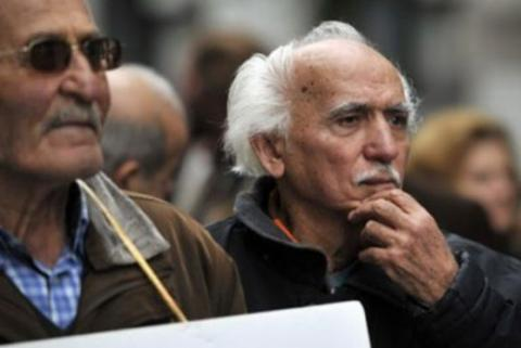 Pensioners in Greece rallied against pension cuts