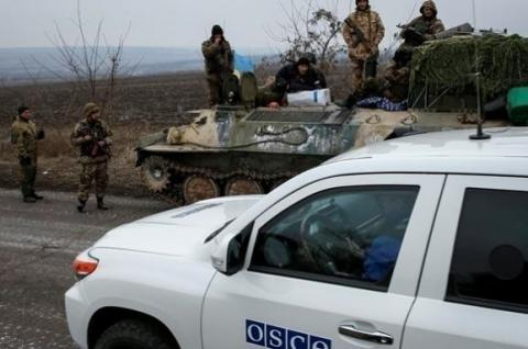 OSCE monitors in Donbas report over 1,000 ceasefire violations daily