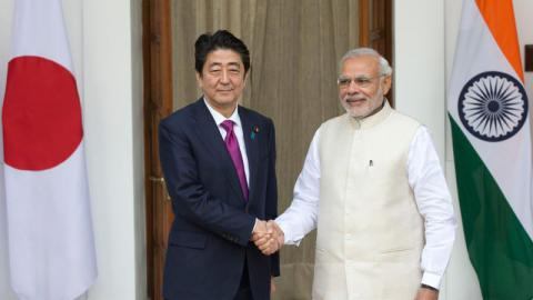 Japan and India sign nuclear deal for non-military use
