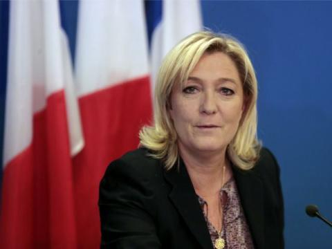 "Marine Le Pen talked about ""global revolution"""
